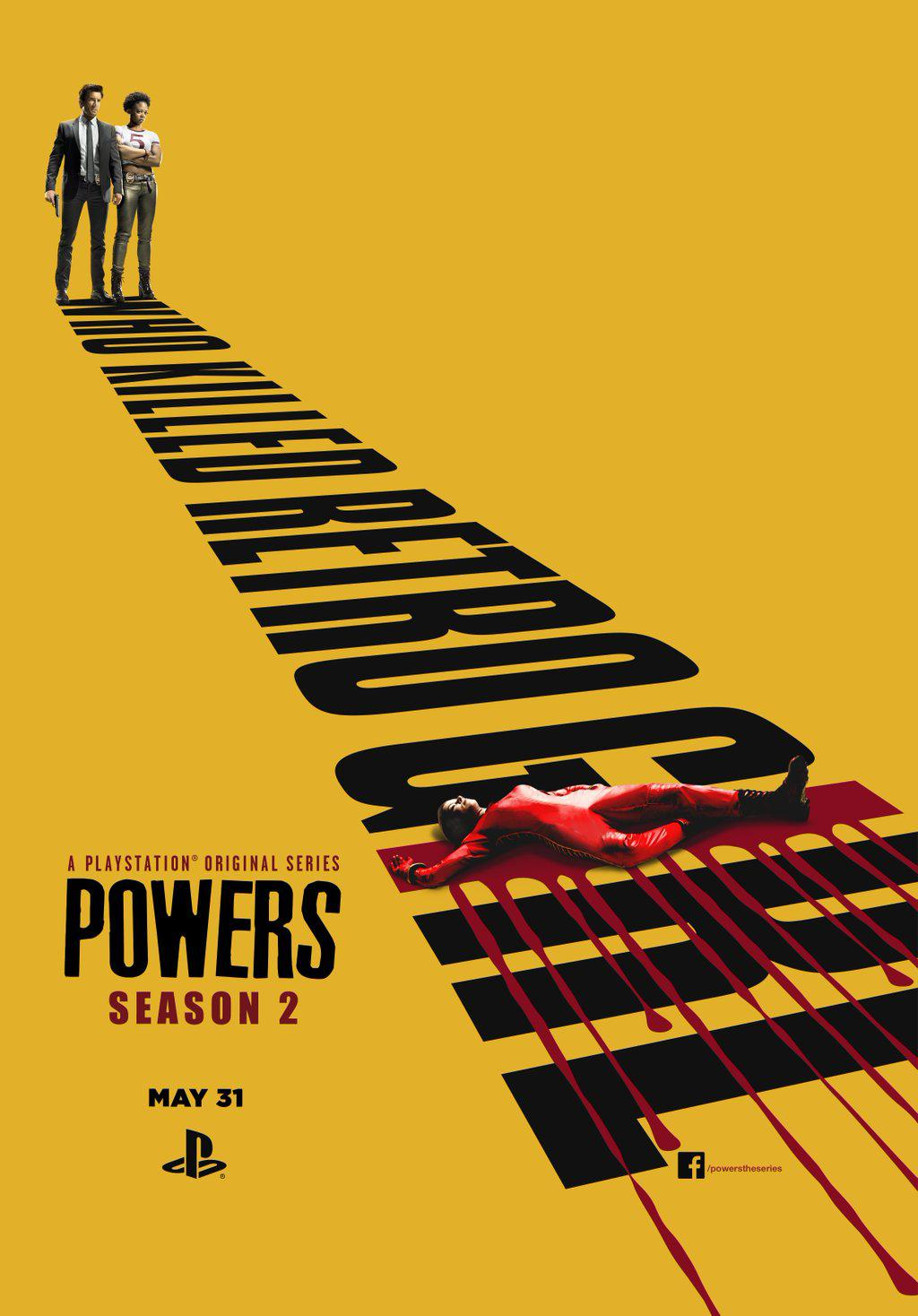 Powers – Saison 2 (Vostfr)