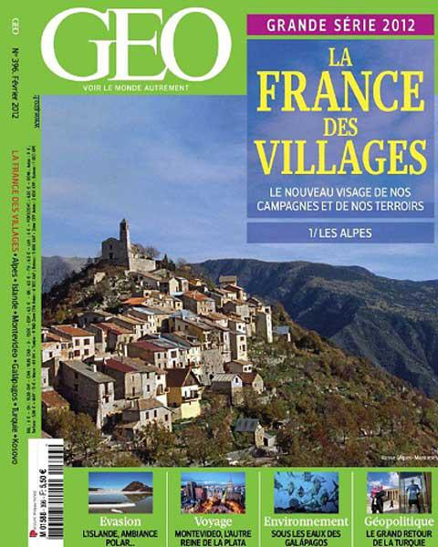 Géo No.396 - La France des Villages