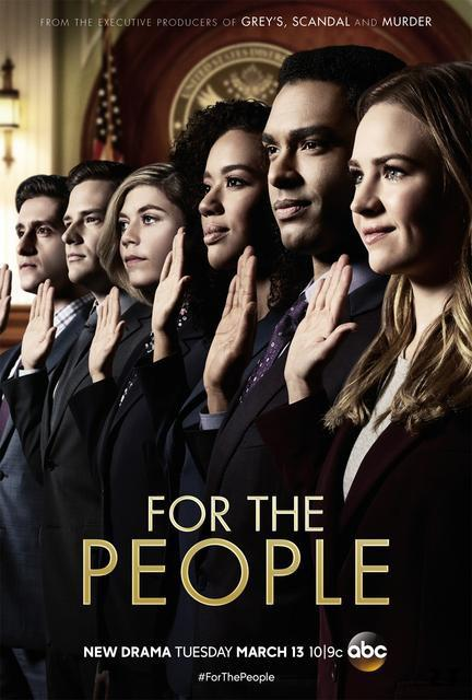 Telecharger For the People (2018)- Saison 1 [COMPLETE] [10/10] FRENCH | Qualité HD 720p