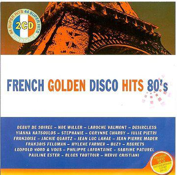 French Golden Disco Hits 80