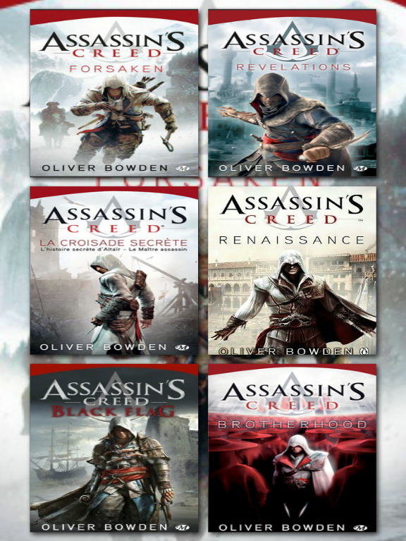 Assassin's Creed - 6 Tomes - Oliver Bowden