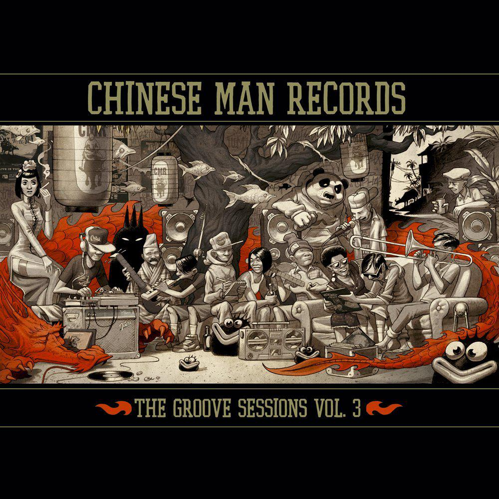 Chinese Man - The Groove Sessions Vol. 3 (2013)