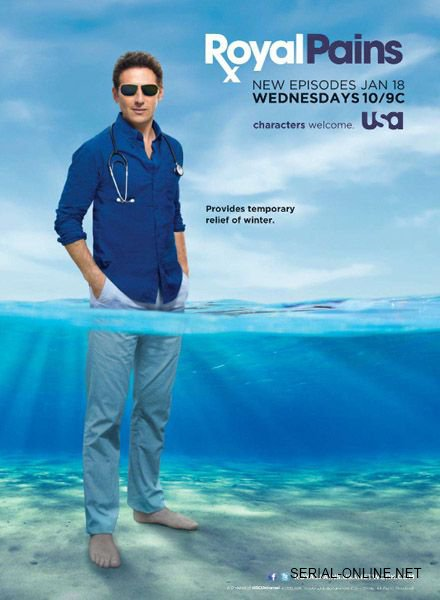 Royal Pains - Saison 8 [COMPLETE] [08/08] FRENCH | Qualité HDTV