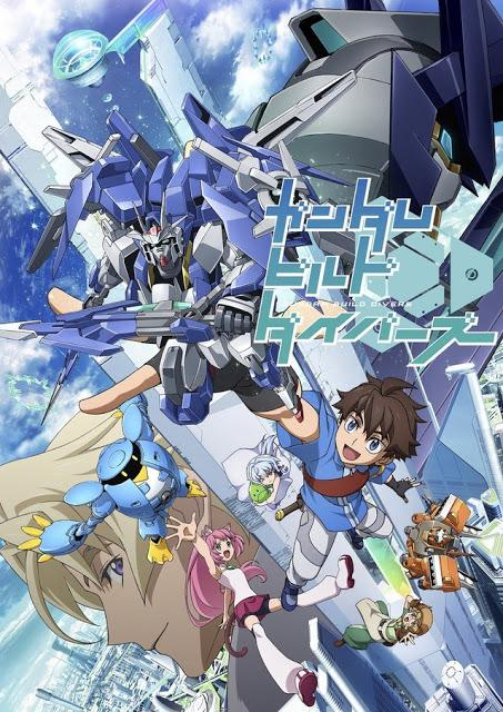 Gundam Build Divers - Saison 1 [11/??] VOSTFR | HD 1080p