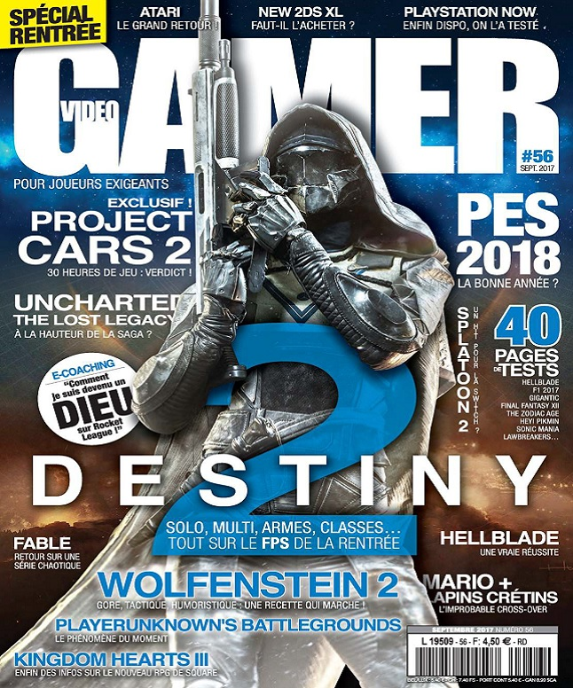 télécharger Video Gamer N°56 - Septembre 2017
