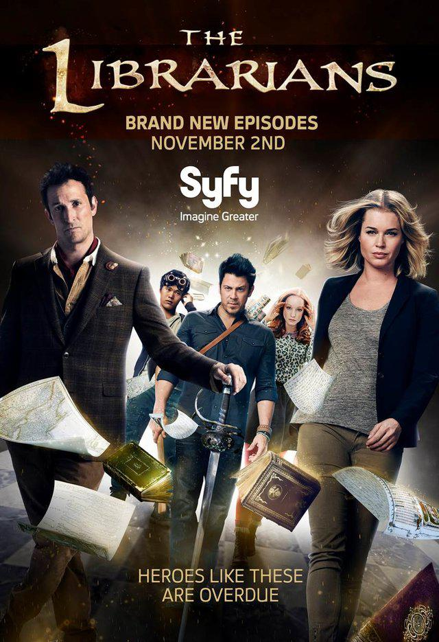 The Librarians Saison 3