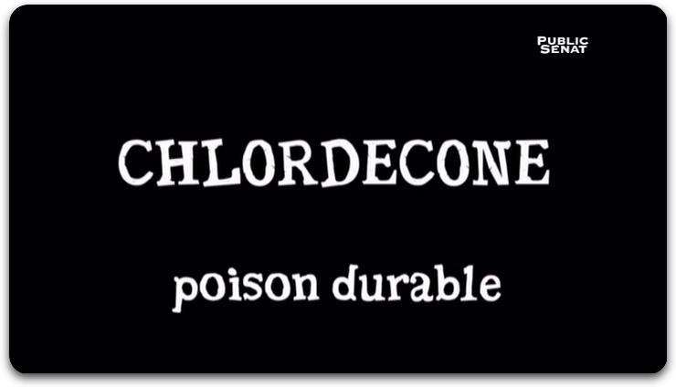Chlordécone Poison Durable