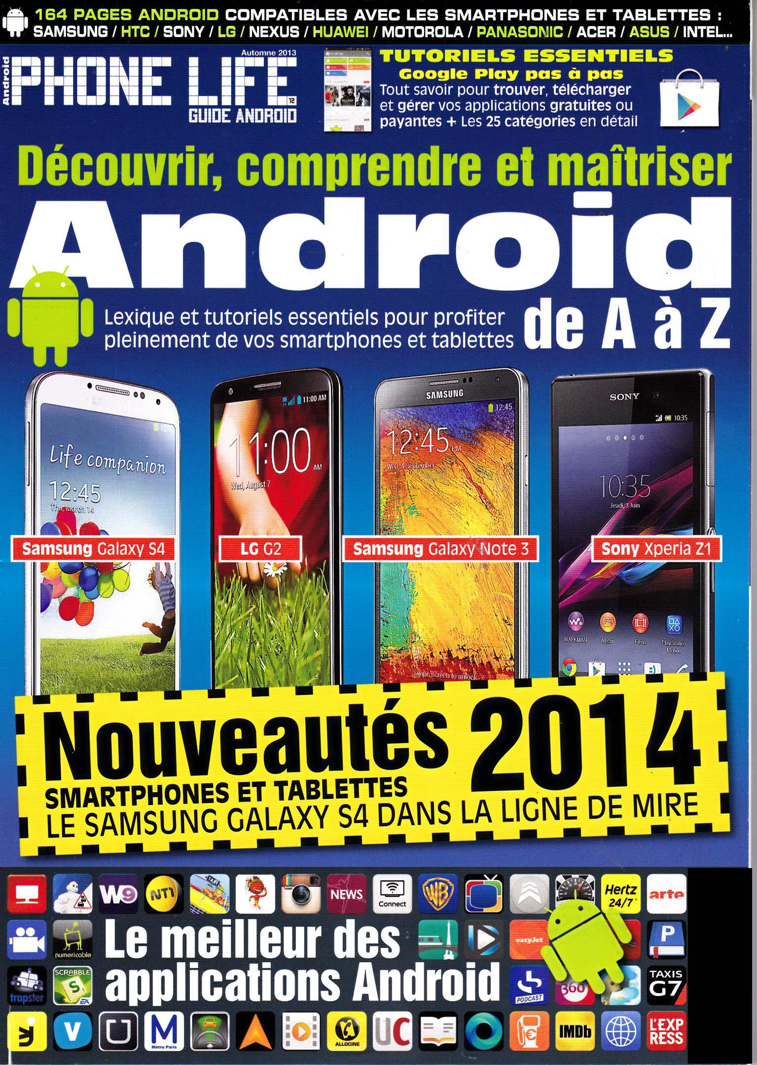 Phone Life Guide Android Hors-Série 12 Automne 2013
