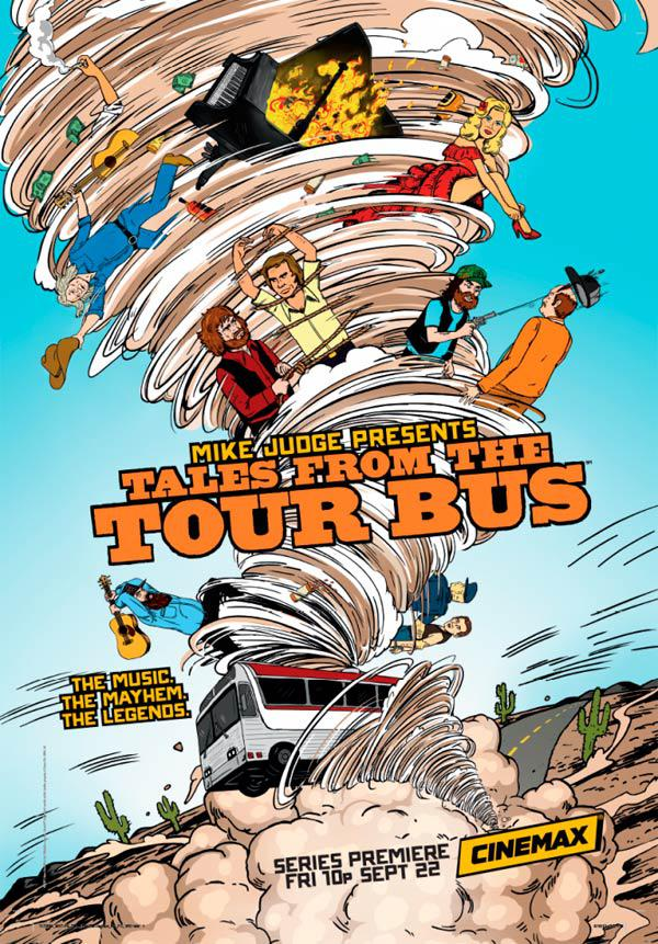 Mike Judge Presents: Tales from the Tour Bus – Saison 1 (Vostfr)