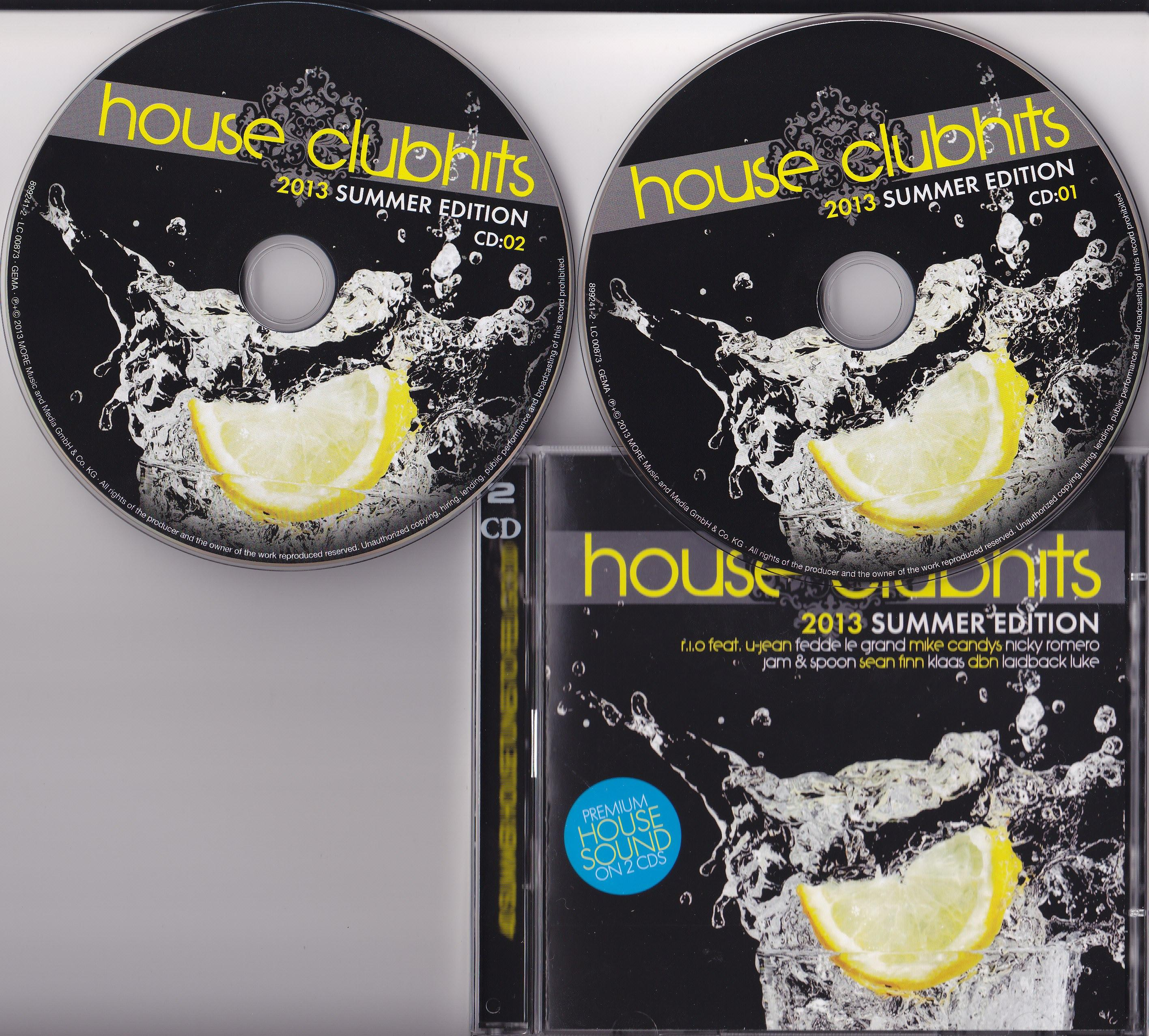 House Clubhits - Summer Edition 2013 [MULTI]