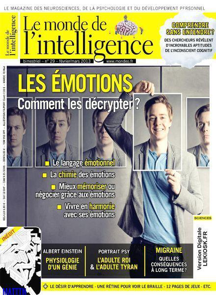 Le Monde de L'Intelligence No.29