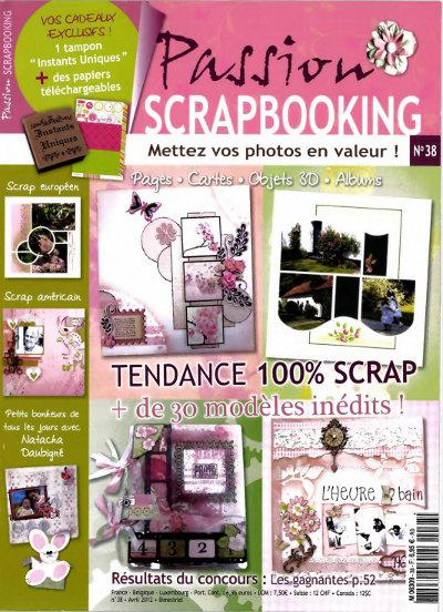 Passion Scrapbooking No.38