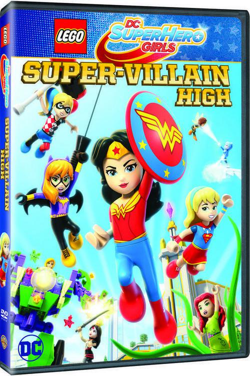 Lego DC Super Hero Girls: Super-Villain High | WEB-DL 720p