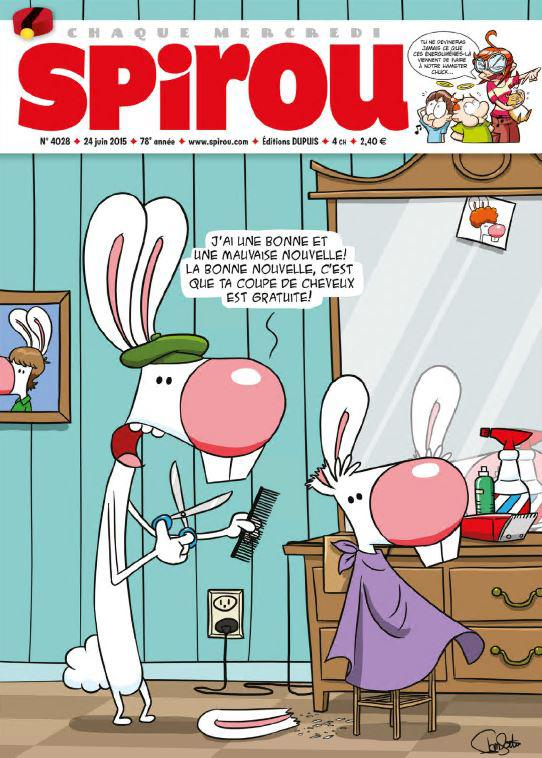 Le Journal de Spirou No.4028