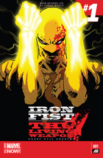 Iron Fist - Tome 1 - The Living Weapon (Marvel Now)