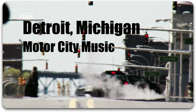 Detroit Michigan : Motor City Music