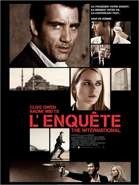 L'Enquête - The International [DVDRiP] [FRENCH] [MULTI]