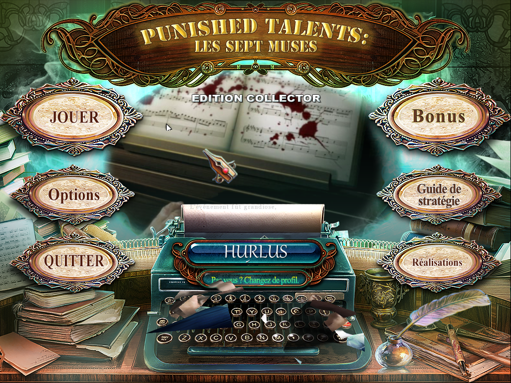 Punished Talents Les Sept Muses Edition Collector