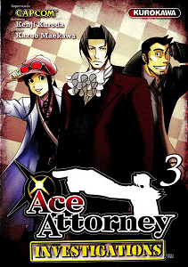 Ace Attorney Investigations - Tome 3