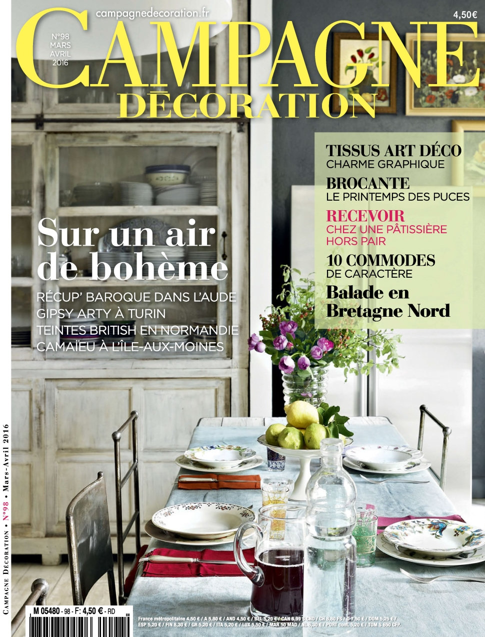 Campagne Décoration N°98 - Mars/Avril 2016