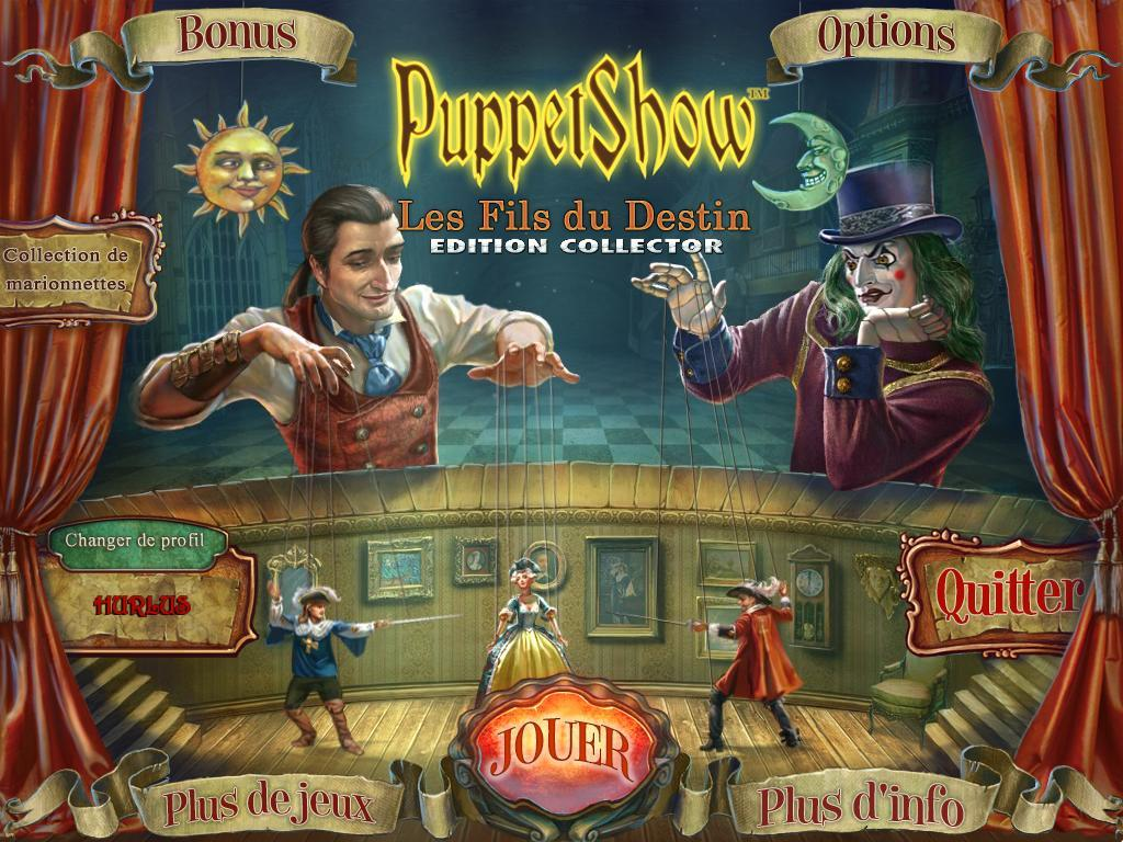 PuppetShow: Les Fils du Destin Edition Collector