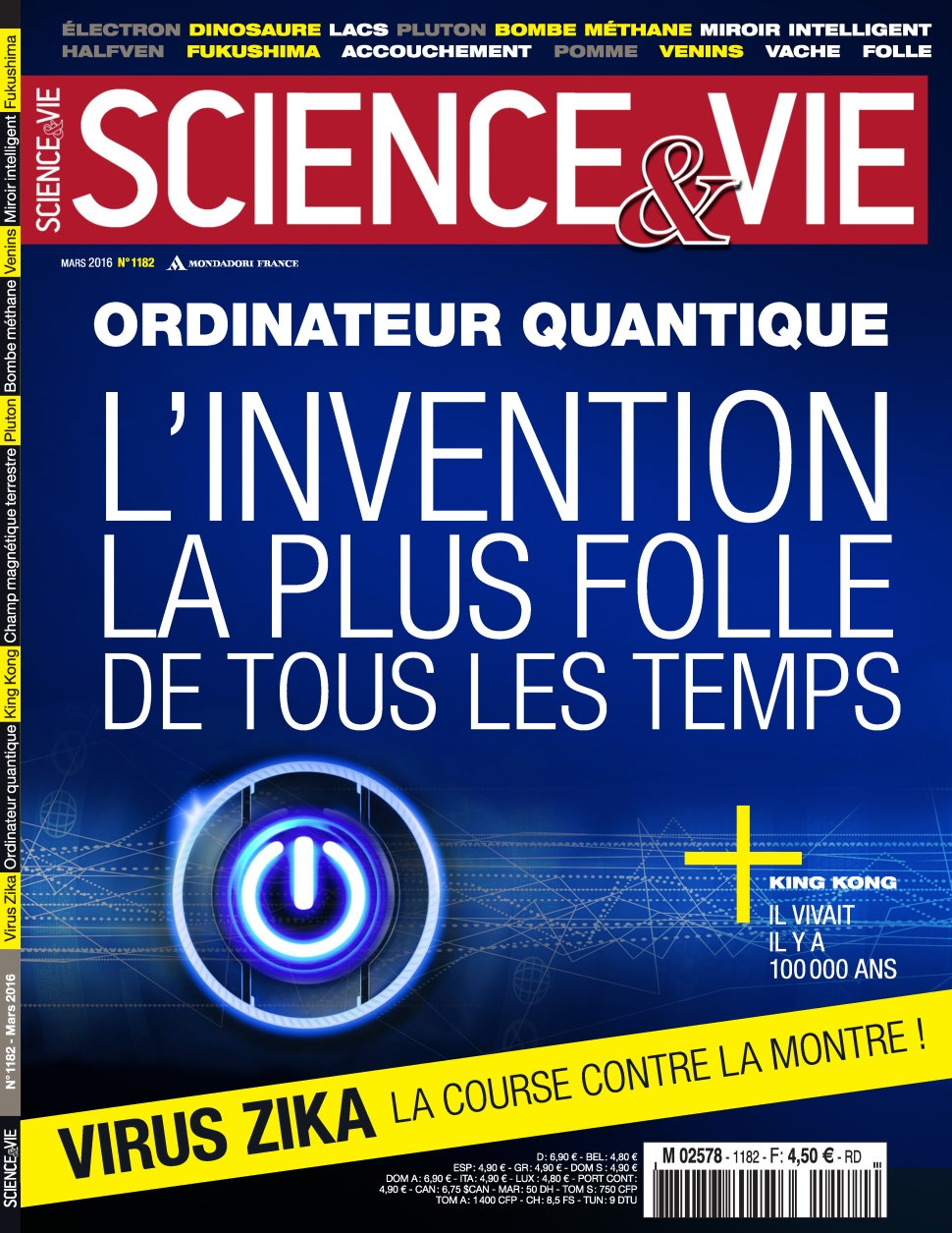 Science & Vie N°1182 - Mars 2016