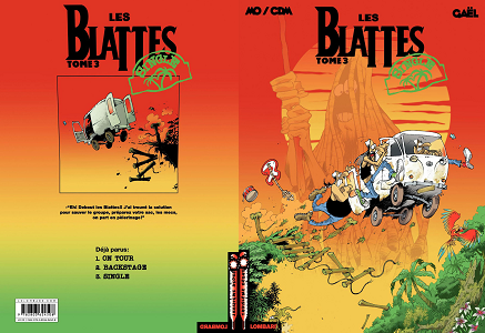 Les Blattes - Tome 3 - Single