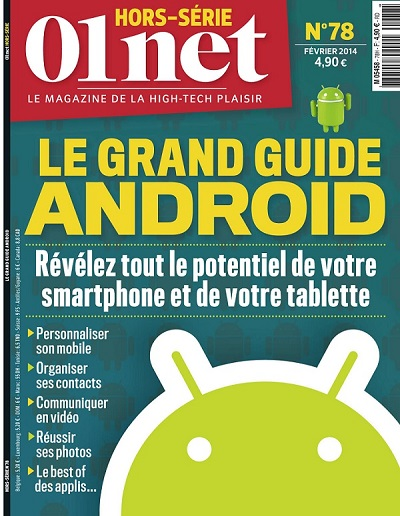 01Net Hors Série N 78 - Le Grande Guide Android