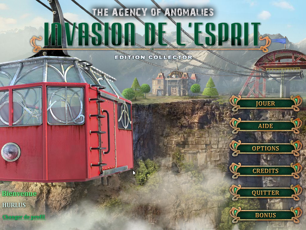 Agency of Anomalies Invasion de l'Esprit Edition Collector