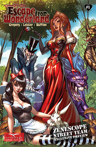 Grimm Fairy Tales Presents - Escape from Wonderland - Tome 1