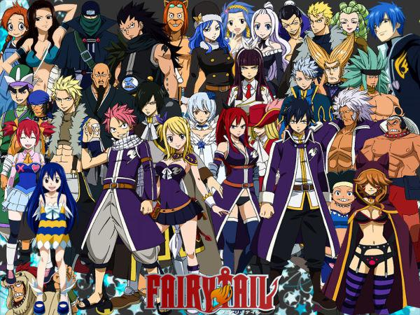 Fairy Tail - Episode de 1 a 190 [FRENCH] [HD720p]