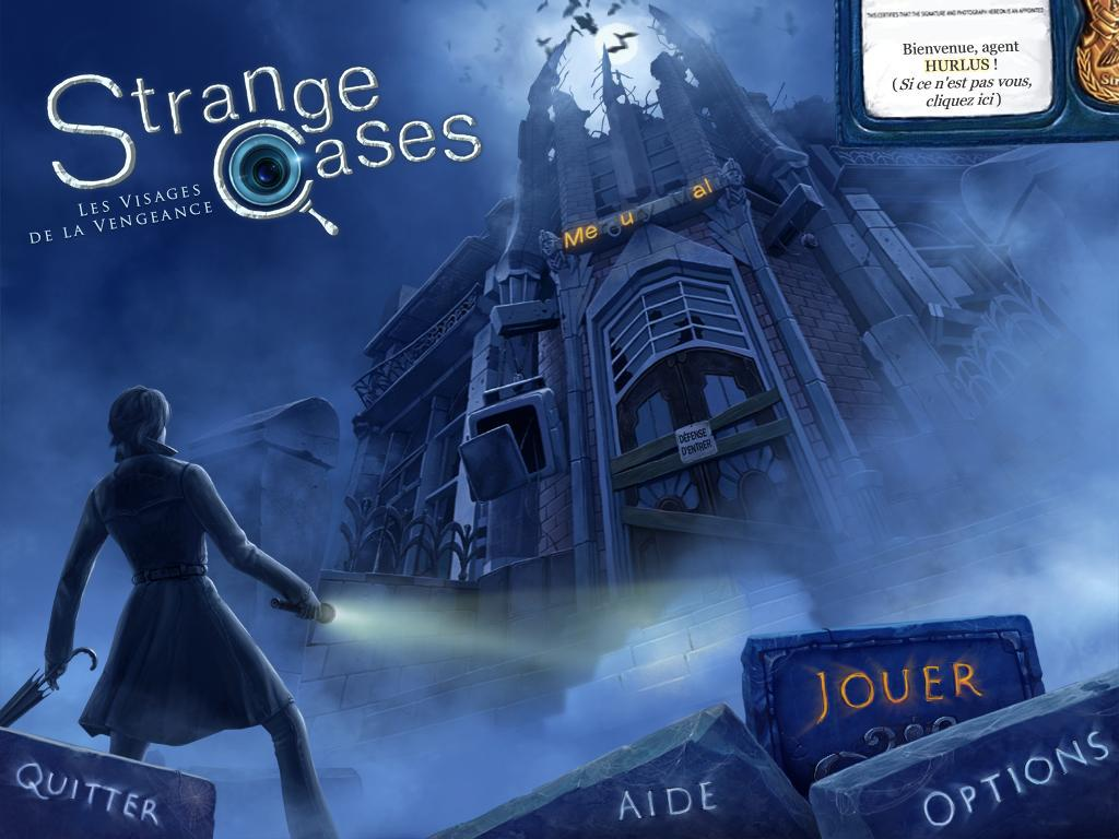 Strange Cases: Les Visages de la Vengeance [PC] [MULTI]
