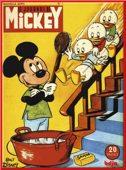 Le Journal de Mickey 1952 à 1958 HD [BD][MULTI]