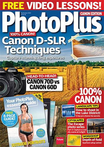 PhotoPlus: Le Canon Magazine Septembre 2013 (UK)