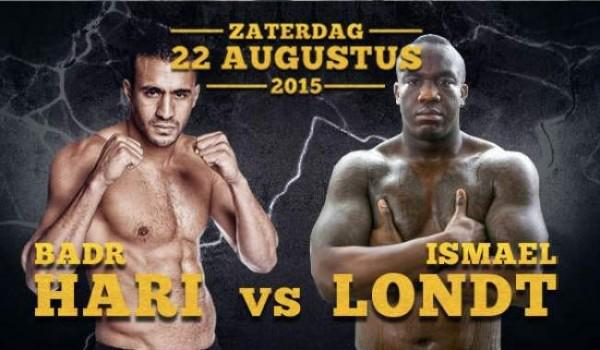 Badr Hari vs Ismael Londt en streaming