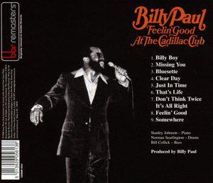 Billy Paul - Feelin Good At The Cadillac Club