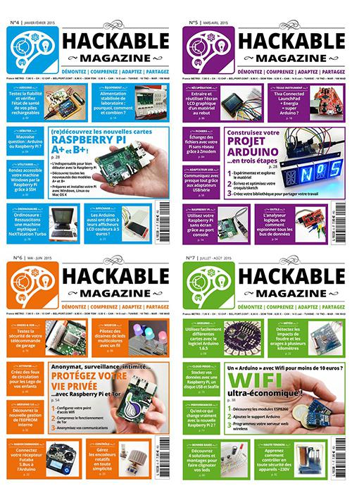 HACKABLE MAGAZiNE COLLECTiON 2O15