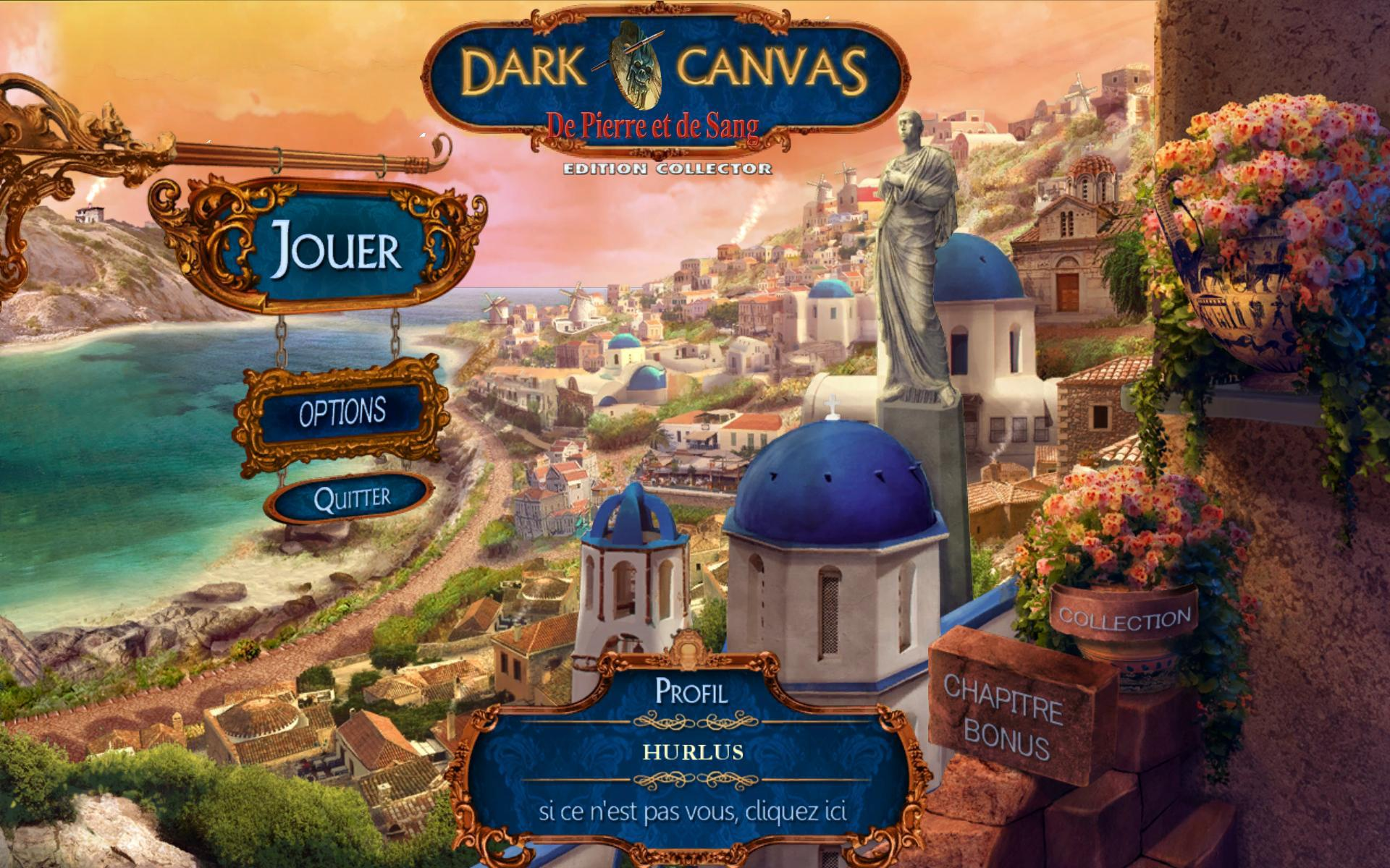 Dark Canvas: De Pierre et de Sang Edition Collector [PC] [MULTI]