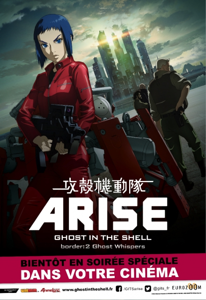 Ghost in the Shell: Arise – Border : 2 Ghost Whispers en streaming vk filmze