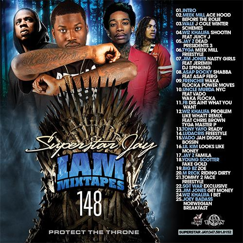 Superstar Jay I Am Mixtapes 148 (2013) [MULTI]