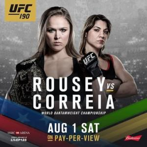 MMA UFC 190 Prelims en streaming