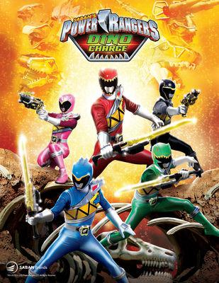 Power Rangers Dino Charge – Saison 1