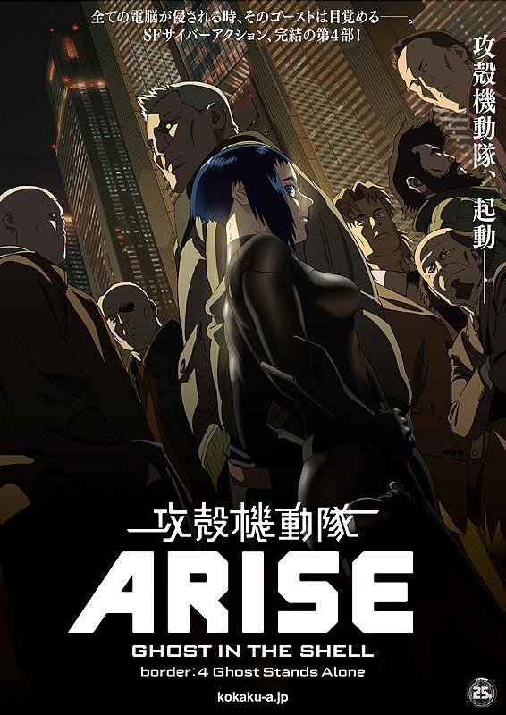 Ghost In The Shell Arise Border