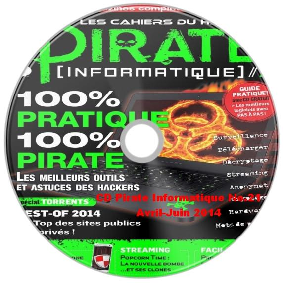 CD Pirate Informatique N°21 - Avril-Juin 2014