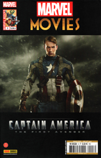 Marvel Movies - Tome 3 - Captain America