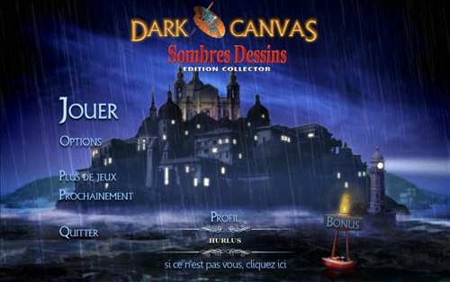 Dark Canvas: Sombres Dessins Edition Collector [PC-FR]