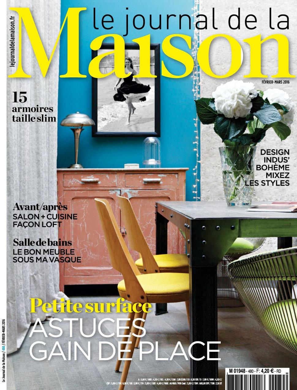 Le journal de la maison n 480 fevrier mars 2016 telecharger - Journal de la maison ...