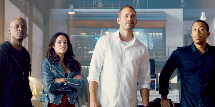 Fast and Furious 7 family