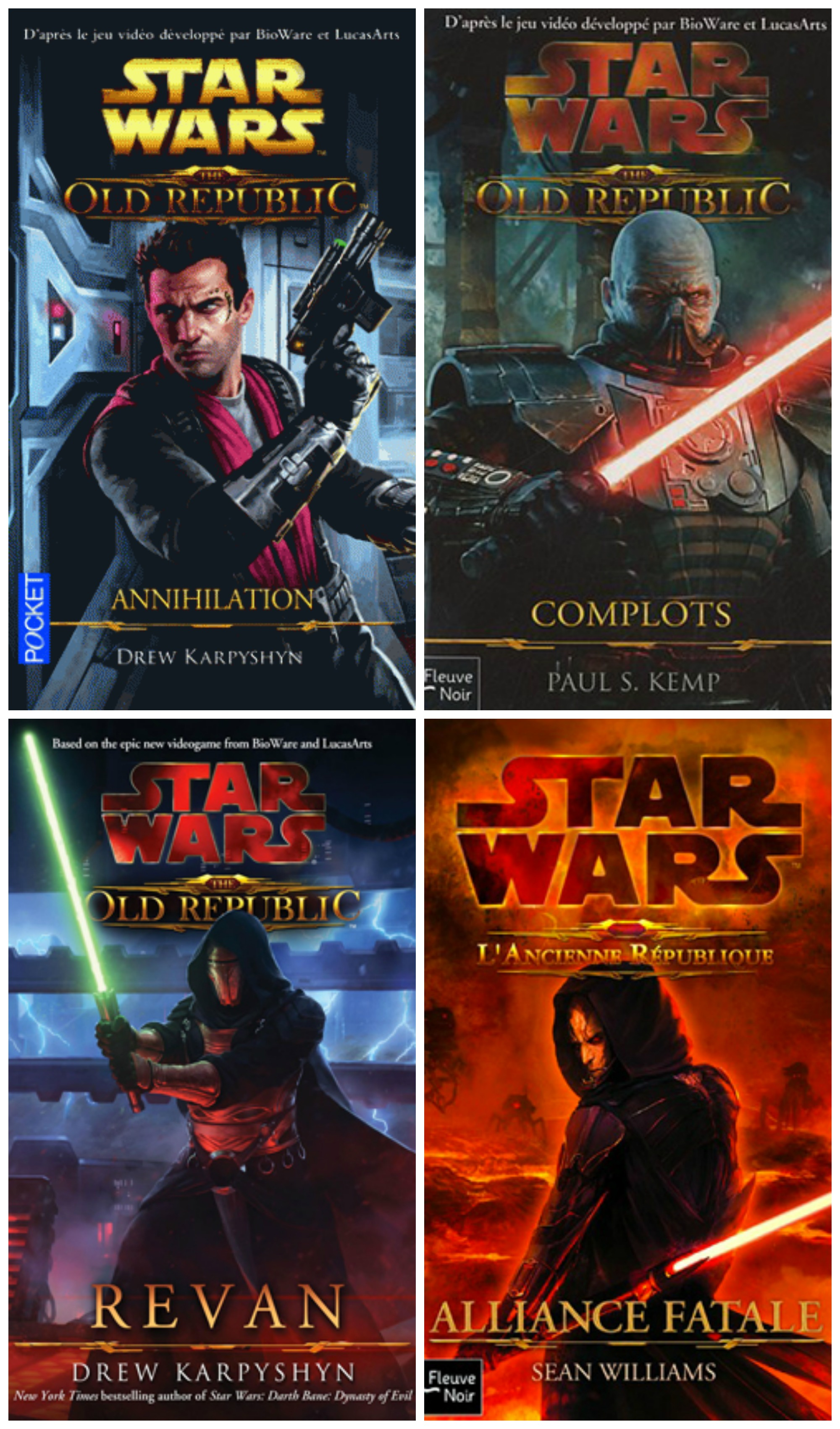 Star Wars - The Old Republic Intégrale 4 Tomes