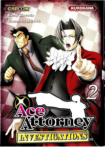 Ace Attorney Investigations - Tome 2